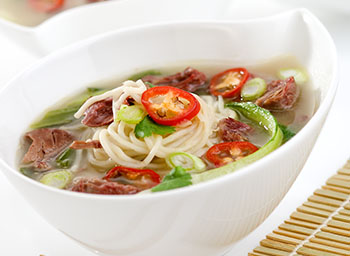 Asian Beef and Noodle Broth