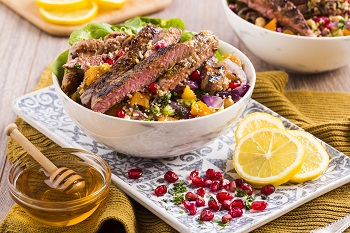 Middle Eastern Lamb Couscous Bowl