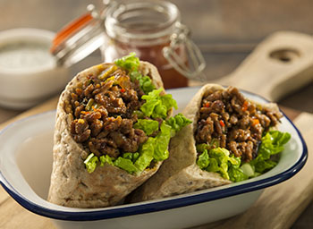 Spiced lamb pitta pockets